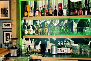 Die Cocktailbar